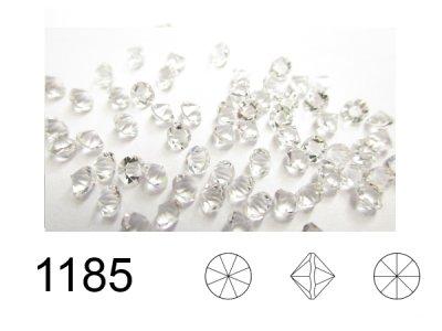 ◆ポインテッド◆1185 埋込型PP14クリスタル/Unfoiled 1440粒