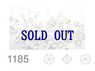 ◆ポインテッド◆1185 埋込型PP9クリスタル/Unfoiled 1440粒
