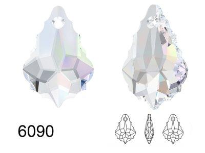 6090 MM16,0X11,0クリスタルオーロラ72粒