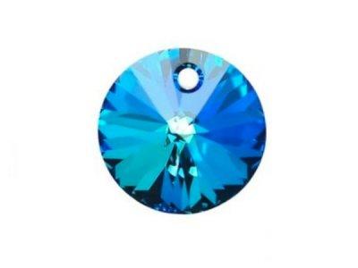 ◆粒売り◆6428 MM8,0 クリスタルバミューダブルー1粒
